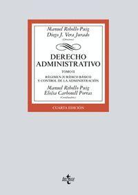 021 T2 DERECHO ADMINISTRATIVO REGIMEN JURIDICO BASICO Y CONTROL ADMINISTRACION