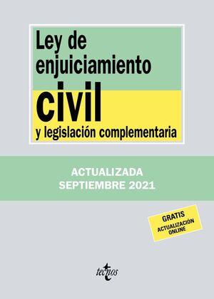 021 N248 LEY DE ENJUICIAMIENTO CIVIL Y LEGISLACIÓN COMPLEMENTARIA