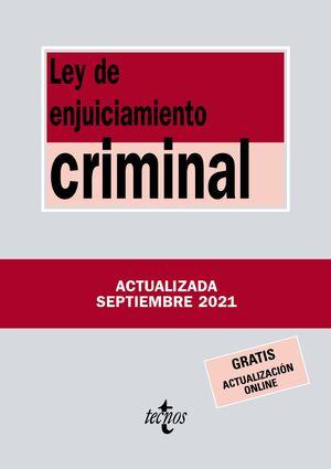021 N519 LEY DE ENJUICIAMIENTO CRIMINAL