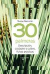 30 PALMERAS -TUS PLANTAS EN PRACTICAS FICHAS (ANILLAS)