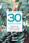 30 PLANTAS CRASAS -TUS PLANTAS EN PRACTICAS FICHAS (ANILLAS)