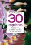 30 ORQUIDEAS -TUS PLANTAS EN PRACTICAS FICHAS (ANILLAS)