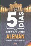 5 DIAS PARA APRENDER ALEMAN Y VIAJAR EL FIN DE SEMANA