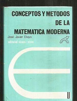 CONCEPTOS Y METODOS MAT.MODERNA
