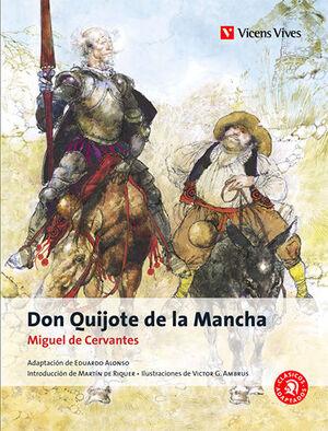 DON QUIJOTE DE LA MANCHA -CLASICOS ADAPTADOS
