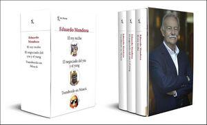 ESTUCHE EDUARDO MENDOZA: EL REY RECIBE/ EL NEGOCIO DEL YIN Y EL YANG/ TRANSBORDO EN MOSCU
