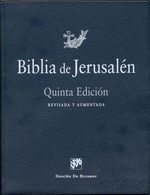 BIBLIA DE JERUSALEN  PIEL