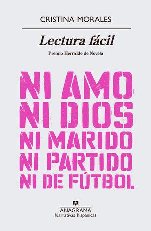 LECTURA FÁCIL. NI AMO, NI DIOS, NI MARIDO, NI PARTIDO DE FUTBOL