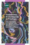 010 FUNDAMENTOS DE INVESTIGACION EN PSICOLOGIA