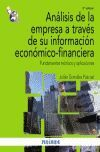 011 ANALISIS DE EMPRESA A TRAVES DE INFORMACION ECONOMICO-FINANCIERA