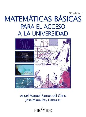 018 MATEMÁTICAS BÁSICAS PARA EL ACCESO A LA UNIVERSIDAD