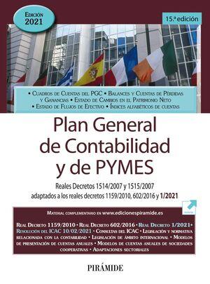 021 PLAN GENERAL DE CONTABILIDAD Y DE PYMES