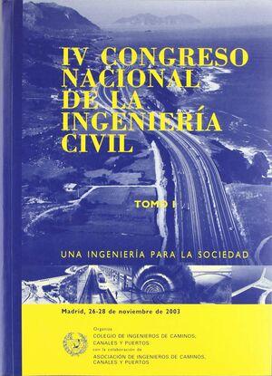 *IV CONGRESO NACIONAL INGENIERIA CIVIL + CDROM