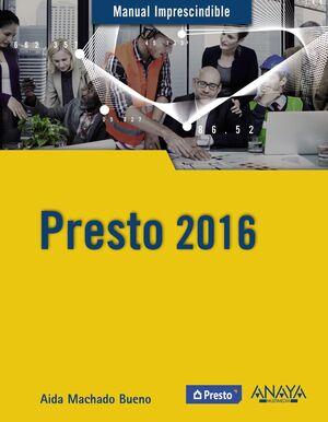 PRESTO 2016. MANUAL IMPRESCINDIBLE