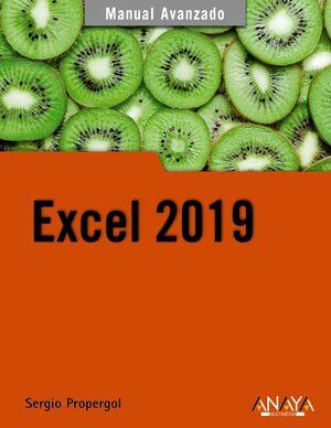 EXCEL 2019 -MANUAL AVANZADO