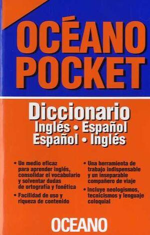 *** 018 DICCIONARIO INGLÉS-ESPAÑOL ESPAÑOL-INGLÉS. OCÉANO POCKET