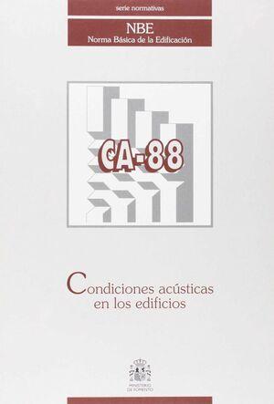 CA-88 CONDICIONES ACUSTICAS EN LOS EDIFICIOS
