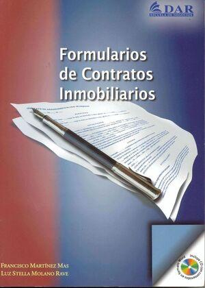 FORMULARIOS DE CONTRATOS INMOBILIARIOS +CD
