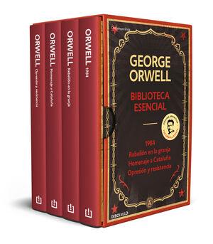 ESTUCHE GEORGE ORWELL: 1984 / REBELIÓN EN LA GRANJA/ HOMENAJE A CATALUÑA/ OPRESIÓN Y RESISTENCIA