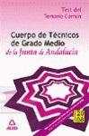 008 C.TECNICO GRADO MEDIO JUNTA DE ANDALUCIA TEST TEMARIO COMUN