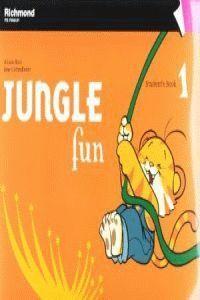 011 JUNGLE FUN 1 STUDENT'S BOOK PACK