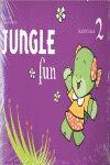 011 JUNGLE FUN 2 STUDENT'S BOOK PACK