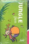 011 JUNGLE FUN 3 STUDENT'S BOOK PACK