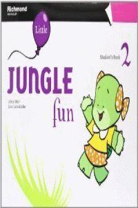 012 SB PRE-PRIMARY LITTLE JUNGLE FUN 2 STUDENT´S BOOK