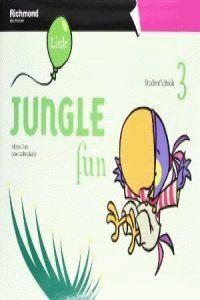 012 SB PRE-PRIMARY LITTLE JUNGLE FUN 3 STUDENT´S BOOK