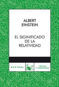SIGNIFICADO DE LA RELATIVIDAD, EL.  AUSTRAL