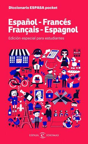 019 DICCIONARIO POCKET FRANCÉS. EDICION ESPECIAL PARA ESTUDIANTES