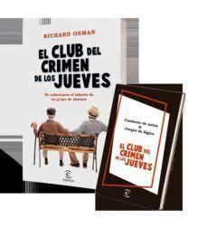 PACK EL CLUB DEL CRIMEN DE LOS JUEVES (LIBRO +CUAD NOTAS)