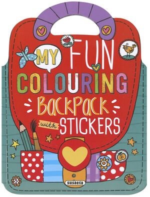 MY FUN COLOURING BACKPACK WITH STICKERS REF.7500-01
