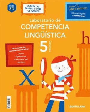 020 5EP CUAD LABORATORIO DE COMPETENCIA LINGÜÍSTICA 3D 5 PRIMARIA