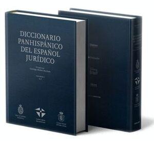 018 2VOLS DICCIONARIO PANHISPANICO DEL ESPAÑOL JURIDICO