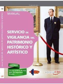 MANUAL SERVICIO DE VIGILANCIA DEL PATRIMONIO HISTORICO Y...