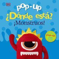 POP-UP. ¿DÓNDE ESTÁ ¡MONSTRUOS!