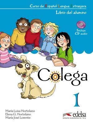 COLEGA 1 - PACK ALUMNO + EJERCICIOS + CD AUDIO
