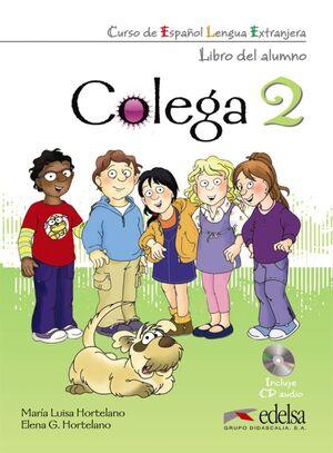 COLEGA 2 - PACK ALUMNO + EJERCICIOS + CD AUDIO