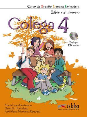 COLEGA 4 - PACK ALUMNO + EJERCICIOS + CD AUDIO