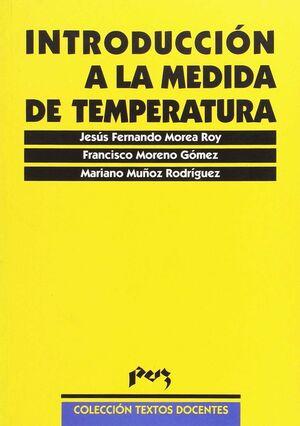 INTRODUCCION A LA MEDIDA DE TEMPERATURA