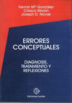 ERRORES CONCEPTUALES. DIAGNOSIS, TRATAMIENTO Y REFLEXIONES