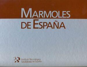 MARMOLES DE ESPAÑA -CARPETA