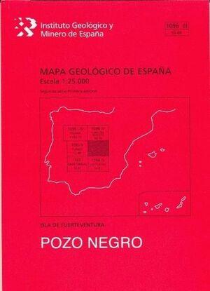 POZO NEGRO. FUERTEVENTURA -MAPA GEOLOGICO ESPAÑA 1096 III/ 93-80