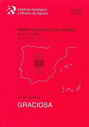 GRACIOSA -LANZAROTE. MAPA GEOLOGICO ESPAÑA 1079-I-III/95/96-68