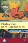 05 NUTRICION PARA EDUCADORES 2ª EDICION + CD