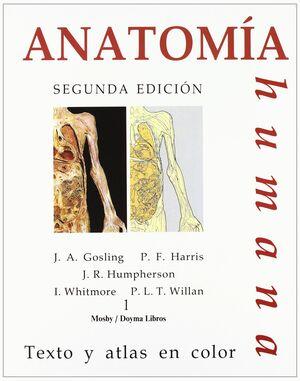 *** ANATOMIA HUMANA I-II. TEXTO Y ATLAS COLOR