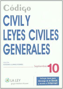 010 CODIGO CIVIL Y LEYES CIVILES GENERALES