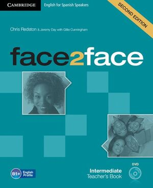 FACE2FACE FOR SPANISH SPEAKERS PRE-INTERMEDIATE TEACHER'S BOOK WITH DVD-ROM 2ND