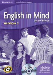 011 ENGLISH IN MIND 3 FOR SPANISH SPEAKERS -WORKBOOK (+CD)